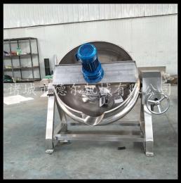 DER-300L可傾式夾層鍋 蒸汽加熱夾層鍋 餡料炒鍋 原料蒸煮 香菇醬炒鍋