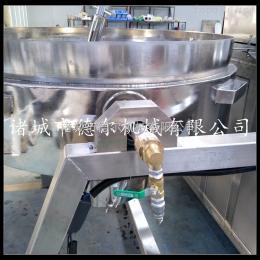DER-300L酱料加工设备 牛肉酱炒锅 厂家供应全自动燃气行星搅拌锅