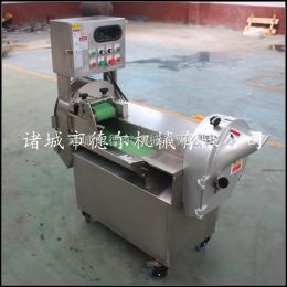 DER-801中央厨房专用多功能切菜机 数字变频切菜机 黄瓜切片切丝机