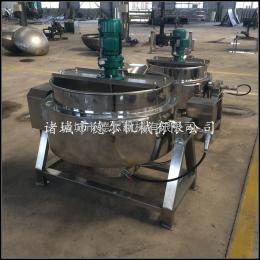 DER-100L羊肉湯蒸煮鍋 帶攪拌夾層鍋 燃氣加熱夾層鍋