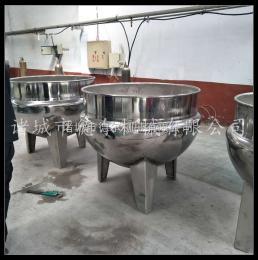 DER-300L厂家直销猪头肉立式蒸汽夹层锅 食品厂专用肉制品蒸煮卤夹层锅