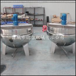 200L立式燃气加热夹层汤锅