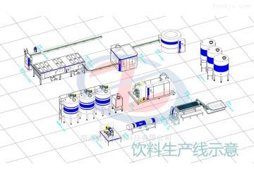 ZS-ND-2NFC工艺南瓜饮料生产线设备
