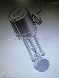 开启或切断管道通路电动针型阀,高温调节阀