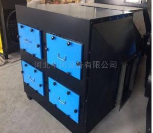 可定制活性炭废气吸附装置漆雾处理环保箱支持