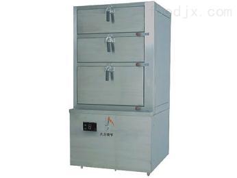 电磁三门海鲜蒸柜炉