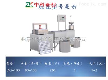DG-1连云港豆腐干机 全自动仿手工豆腐干机价格 中科豆制品设备厂家直销 终身服务
