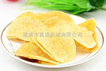 JN-6000薯片薯條油炸生產線