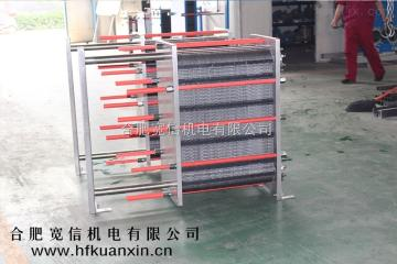 KX安徽304、316、316L不銹鋼板式換熱器廠家