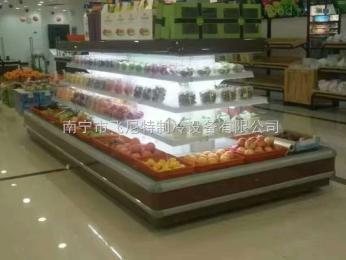 FG-2000F南宁厂家超市风幕柜水果柜饮料柜冷藏保鲜展示柜蛋糕柜