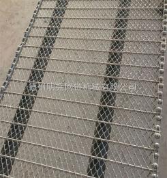 型号齐全海产品清洗不锈钢网带, 食品输送网链,防腐蚀网带。