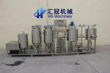 山东汇冠啤酒设备、糖化罐、发酵罐