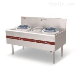 雙炒單溫快餐爐灶