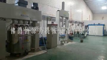 600L硅酮玻璃膠制膠成套攪拌分散機