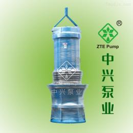 900QZB-100浮船泵_QZB潜水泵_水上泵房使用泵