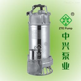150WQ200-57-75重金屬污水處理用泵WQ不銹鋼潛水排污泵