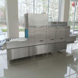 厨房不锈钢餐盘清洗机 全自动洗碗机