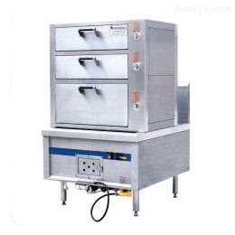 中式三门蒸柜炉