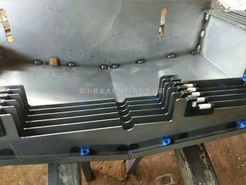 汉川XH714D加工中心XYZ轴导轨防护罩