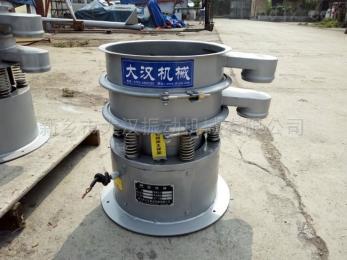 800型不锈钢旋振筛在豆浆筛分中的应用情况