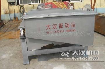 大汉机械讲述直线振动筛日常维护保养的方法
