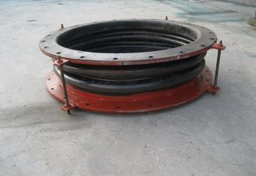 TEL:17330177003大型橡膠補償器 DN600 非金屬織物 矩形圓形