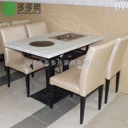 156948韩式烧烤桌椅 韩国烤肉桌椅