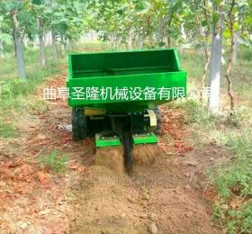 开沟施肥旋耕自走式园林管理机