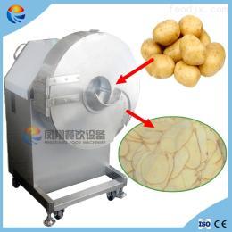 FC-582电动不锈钢大型山药木薯土豆地瓜薯香蕉切片机