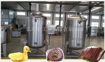 500鴨血豆腐生產線設備