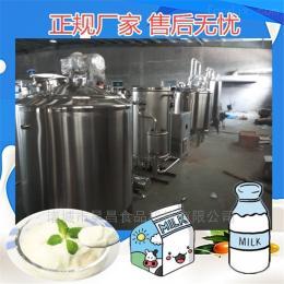 可加工定制酸奶流水线_酸奶制作设备_巴氏酸奶生产线