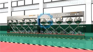 廠家供應芭蕉芋淀粉加工設備,淀粉旋流器