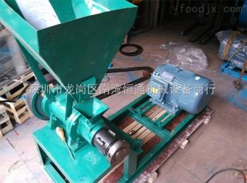 广东河源小型家用鱼饲料膨化机加工, 厂家直销甲鱼饲料膨化机