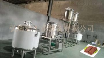 弘瑞和豬血加工設備_血豆腐生產線