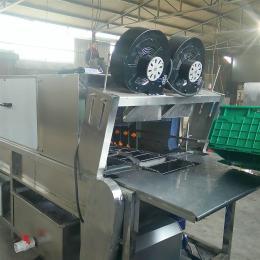 XKJ-2000型机械配件箱清洗机 洗盒机 洗盘子流水线