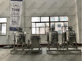 100型200型巴氏酸奶加工设备 酸奶饮料设备 -沃达斯科