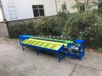 LN-1500B供应利农牌LN-1500B小型火龙果分选设备,机械称重式人工上果火龙果等级分选