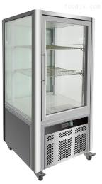 四面玻璃风冷立式展示柜-