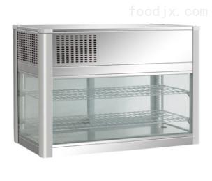 四面玻璃台式风冷展示柜
