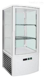四面玻璃风冷立式展示柜