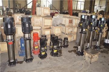 CDLF立式不锈钢管道多级泵多级增压泵过滤