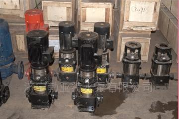 太阳能水泵管道泵QDL 游泳池泵立式