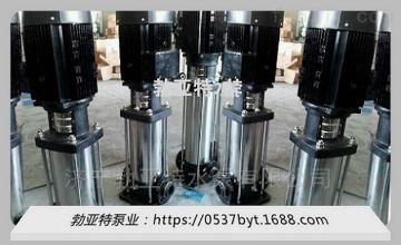 QDL轻型不锈钢立式管道多级泵2吨离心泵