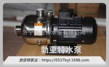 厂家批发QDW卧式电动水泵静音循环潜水泵