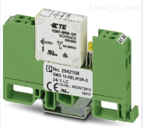 EMG 10-REL/KSR-G继电器模块订货号2942108