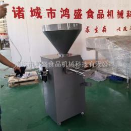 QG-01香肠气动定量扭结灌肠机,香肠气动定量灌装线