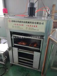 YX-120烧鸡糖熏烟熏炉鸿盛专业制造