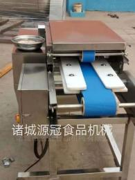 YGQT-004雪花鸡柳 鸡胸肉 猪肉切片切条机