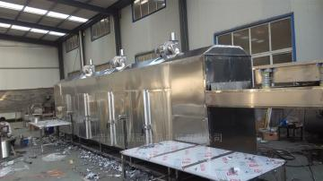 YGHG-04網帶式 食品包裝烘干 高效蒸發隧道式烘干機