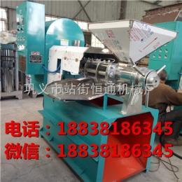 100型江苏油菜籽榨油机榨油生产工艺